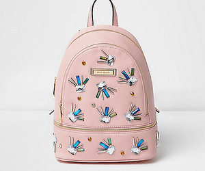 backpack, embellished, and jewel image