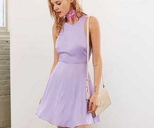 dress, fashion, and lilac image