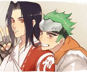 brothers, shimada, and genji image