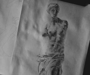 aphrodite, art, and botticelli image