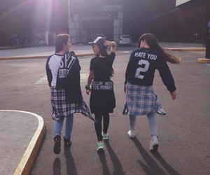 girl, squad, and style image