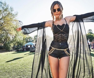 josephine skriver, coachella, and model image