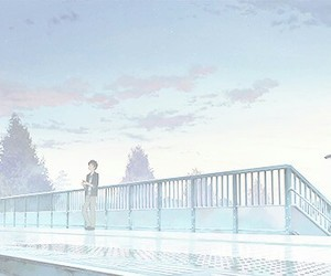 anime, pastel, and anime scenery image