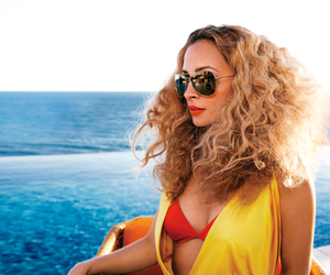 hair and hair curly blond image
