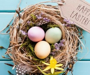 easter and happy image
