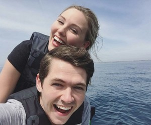 damian mcginty, anna claire sneed, and mcsneed image