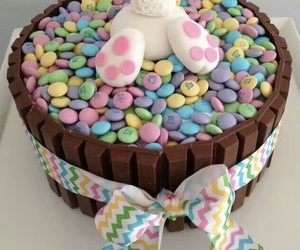 cake, bunny, and easter image