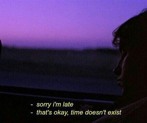 time, grunge, and quotes image