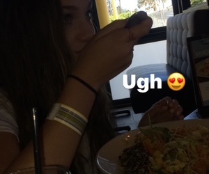 dancer, date, and eating image