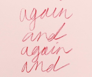 pink, quotes, and again image