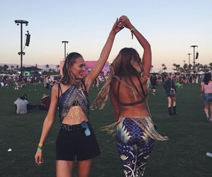coachella, gipsy, and friends image