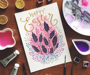 art, bunny, and chocolate image
