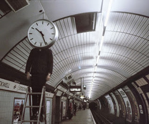 london, london underground, and time image