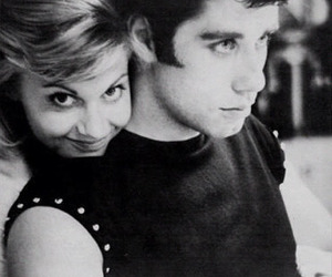 grease, John Travolta, and Sandy image