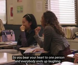 quote, sad, and school image