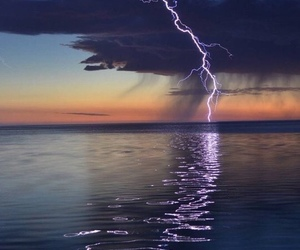 storm, nature, and sky image