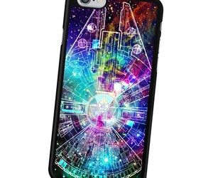 millenium falcon, samsung galaxy case, and star wars image