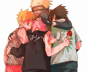 naruto, team 7, and sasuke image