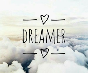 Dream, dreamer, and sky image