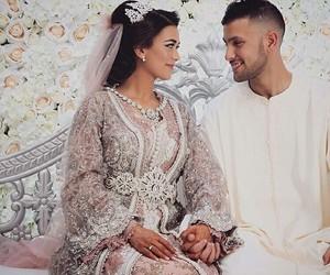 allah, arabic, and wedding image