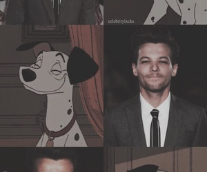disney, louis tomlinson, and one direction image