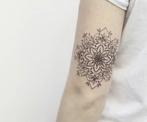 tattoo geometric black image