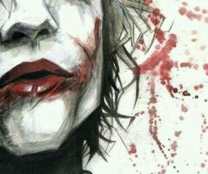 joker, batman, and art image