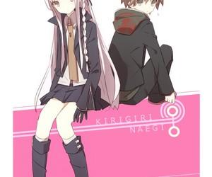 danganronpa, kyouko kirigiri, and makoto naegi image