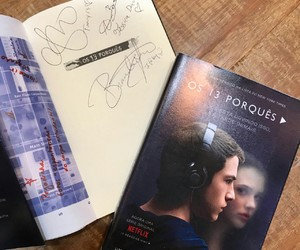 book, brazil, and 13 reasons why image