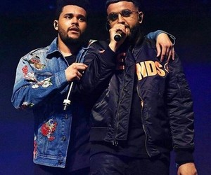 the weeknd and nav image