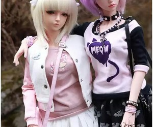 anime, bff, and dolls image