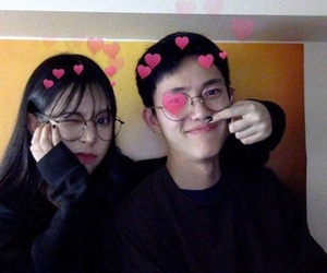couple, aesthetic, and asian image