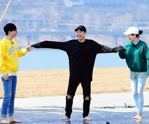 funny, haha, and running man image