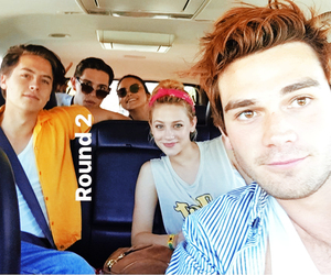 coachella, cole sprouse, and riverdale image