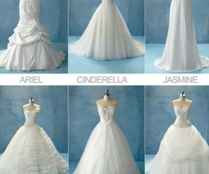 dress, princess, and disney image