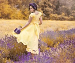 beauty, princess, and spring image