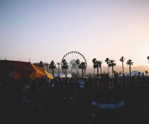 coachella, summer, and summervibes image