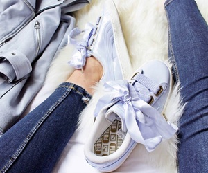 fashion, puma, and shoes image