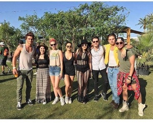 actors, coachella, and cole sprouse image