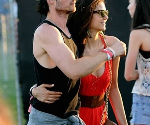ian somerhalder, Nina Dobrev, and love image
