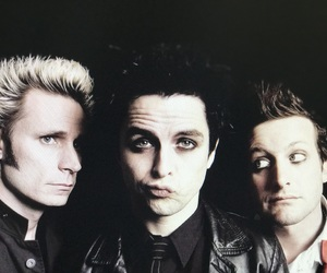 billie joe armstrong, tre cool, and mike dirnt image