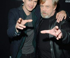 hayden christensen, star wars, and mark hamill image