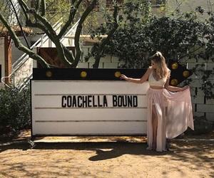 coachella, girl, and fashion image