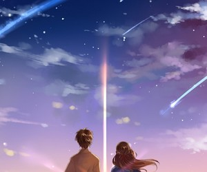 wallpaper, anime+, and kimi no na wa image