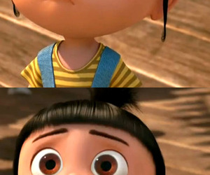 despicable me, cute, and agnes image