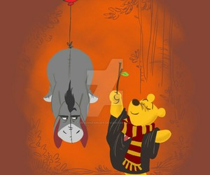 harry potter, hp, and pooh image