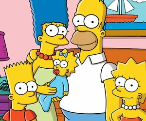 homer, simpsons, and bart image