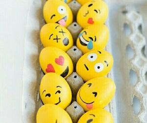 emoji, eggs, and easter image