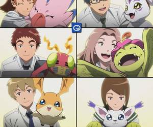 digimon, digimon adventure tri, and patamon and takeru image