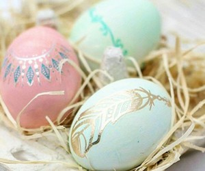 easter, eggs, and family image